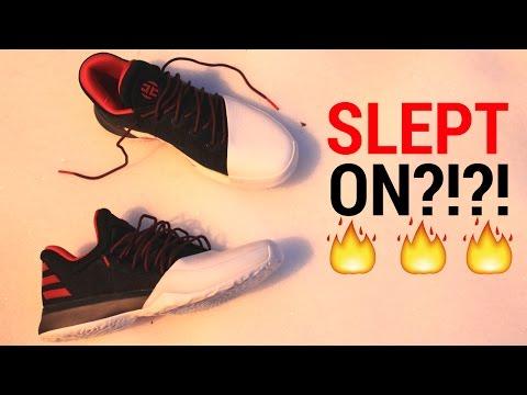 "adidas-harden-vol.1-""pioneer""-unboxing-+-on-feet"