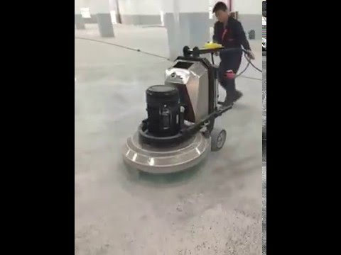 Concrete Marble Terrazzo Epoxy Floor Polishing Machine Youtube