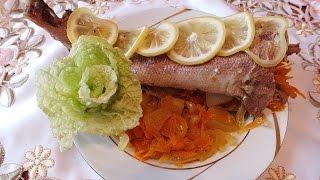 Красноглазка в Мультиварке фаршированная  овощами рецепт