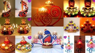 7 Diy Easy Diwali Diya Stand Decoration Ideas Diwali Diya
