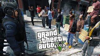 гТА 5 МОДЫ! ПОЛИЦИЯ ПОДАВЛЯЕТ БУНТ! RIOT COPS ВИДЕО ПРИКОЛЫ! ОБЗОР МОДОВ ИГРЫ GTA V! GTA 5 MODS #92
