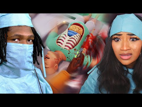 We Should Not Be Trusted With Anyone's Life! | Surgeon Simulator 2 w/ @Krystalogy