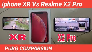 Realme X2 Pro VS iPhone XR PUBG Test | Realme X2 Pro Vs iPhone XR PUBG COMPARSION , Handcam Gameplay