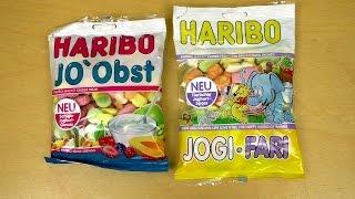 Haribo Yogurt Gums: JO`Obst JOGI*FARI