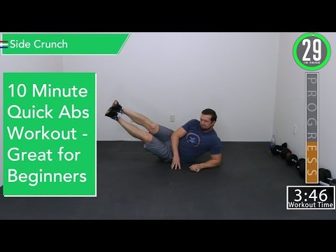 10 minute abs workout  easy modifications for beginners