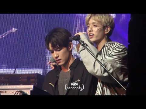 170721 DAY6 데이식스 Live & Meet in Taipei 원필(WonPil) - Free하게(Freely)