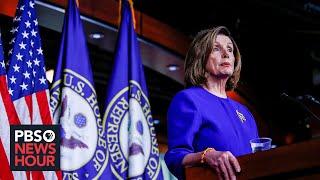 News Wrap: Standoff over Senate impeachment trial to end next week