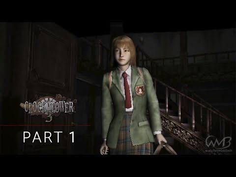 Clock Tower 3 - Walkthrough Part 1 - Hamilton's Mansion (1st Stage)