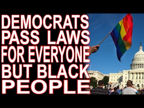Democrats Passing Laws For Everyone Except Black Voters