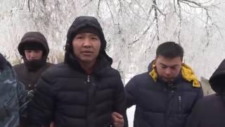 Поймали воров, на месте крушения самолета в Бишкеке