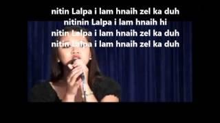 bethsy - i lam hnaih lyrics on screen