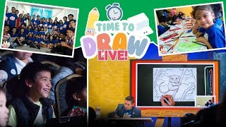 How to Draw and Color a Tarsier | Time to Draw LIVE