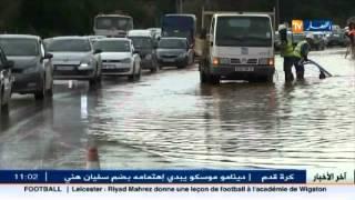 زرالدة : انفجار قناة جر للمياه يتسبب في ازدحام حركة المرور
