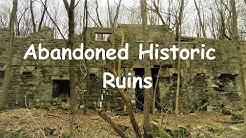 Abandoned Historic Ruins of the Mahanoy Plane, Frackville PA