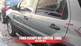 Chocadita Ford Escape 2006 AutoComercia