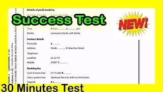 ielts listening Practice test 2016 with Answers Script Success Test