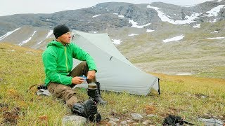 Solo Trekking the Mountain - Ikkesjavrre