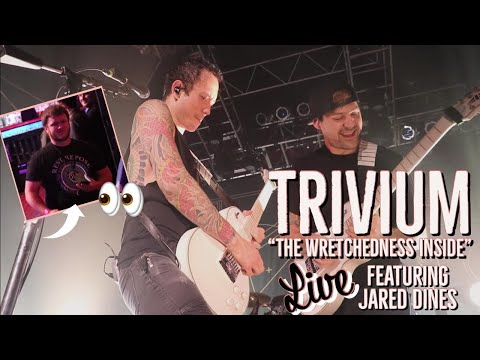 "Trivium - ""THE WRETCHEDNESS INSIDE"" (live) ft. Jared Dines [2018]"