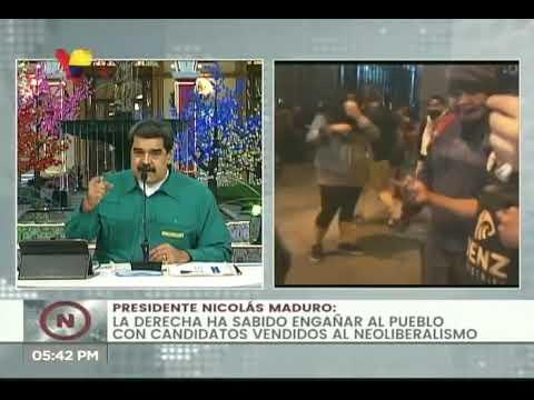 Presidente Maduro muestra su apoyo y solidaridad al pueblo de Perú ante crisis política