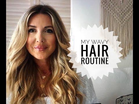 FAIRE DES BOUCLES WAVY EN QUELQUES MINUTES /MY WAVY HAIR ROUTINE