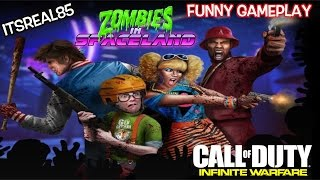 """FUNNY CALL OF DUTY """"ZOMBIES"""" GAMEPLAY WITH ITSREAL85!"""