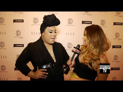 The Patrick Starrr Talks Make Up Tip and Beauty Tips At BeautyCon LA