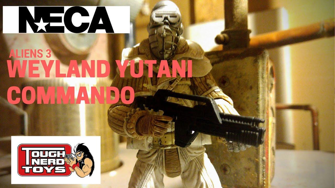 Neca Alien 3 Series 8 Weyland Yutani Commando 7