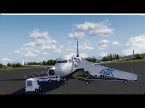Ryanair LIRA/EYVI/EGSS 5 hour nonstop stream Vas test with NVidia 381.65 driver