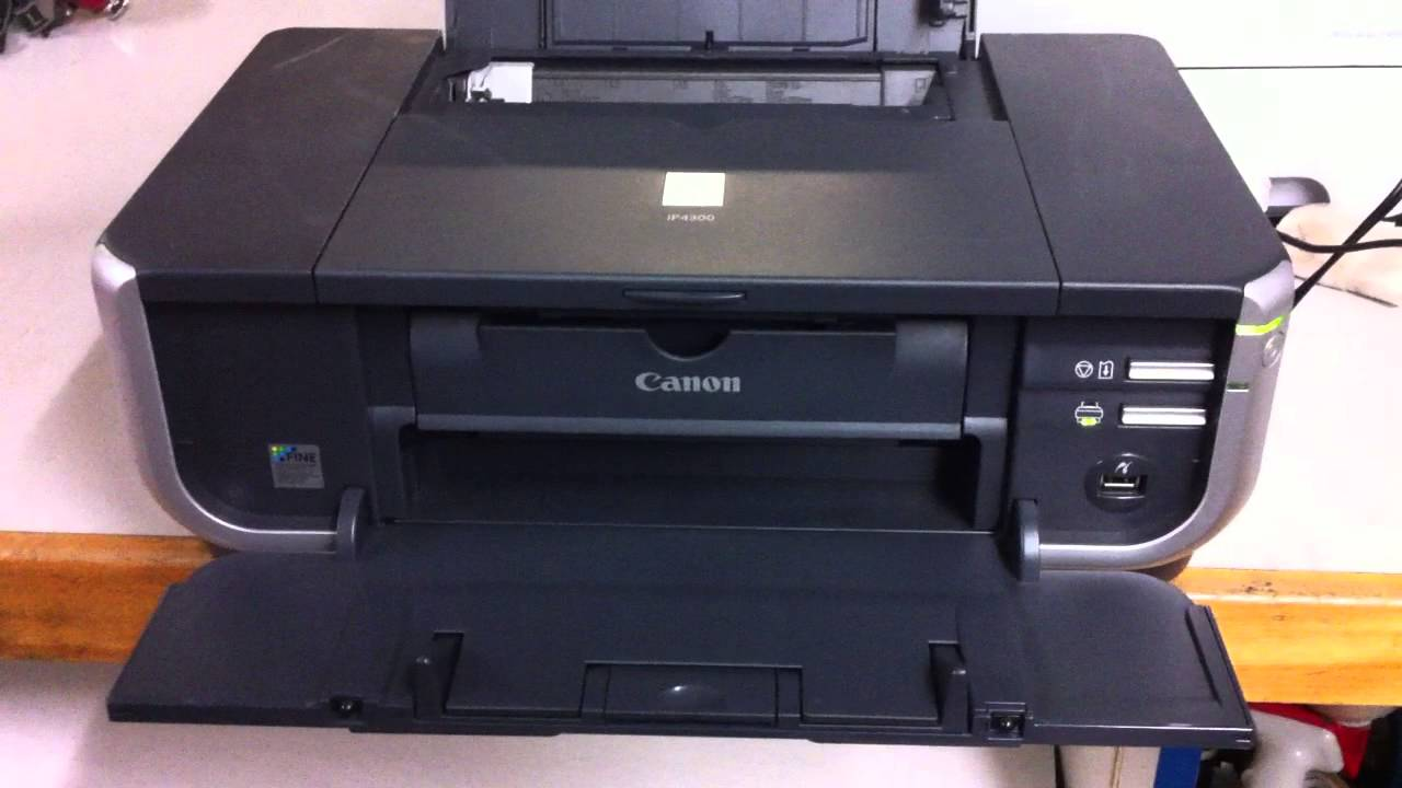 Canon Pixma iP4300 Series Quick Start Manual
