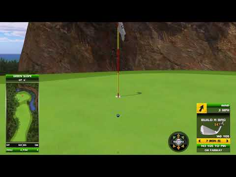 Golden Tee Great Shot On Coral Ridge!