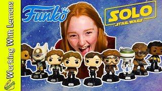 Han Solo Funko Pops