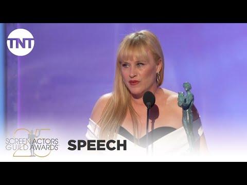 Patricia Arquette: Award Acceptance Speech   25th Annual SAG Awards   TNT
