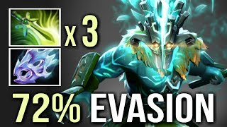 3 Butterfly 72% Evasion 41 Kills Insane Juggernaut Rampage Mind_Control Epic Gameplay Dota 2