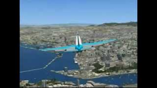 Marseille/Provence - go around - B 747 [FSX]