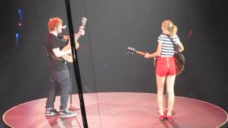 Taylor Swift Live In San Diego - Everything Has Changed Ft. Ed Sheeran - August 15th,2013