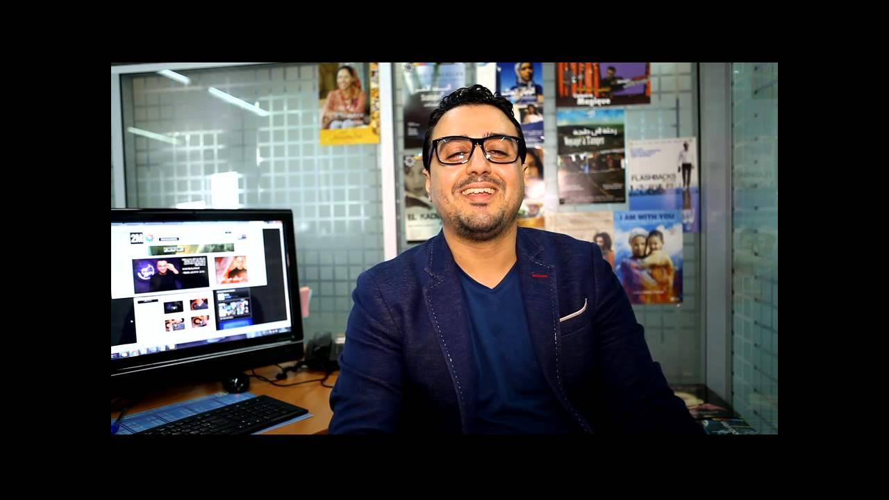 Rachid Show en interview exclusive pour 2m.ma رشيد العلالي في حوار حصري لموقع القناة الثانية