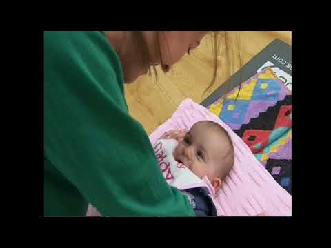 Pregnancy Yoga And Baby Yoga Video - AshbourneYoga.com - Catherine Carr
