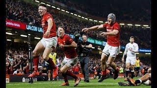 Adams scores from cross kick to send Principality Stadium crazy! | Guinness Six Nations