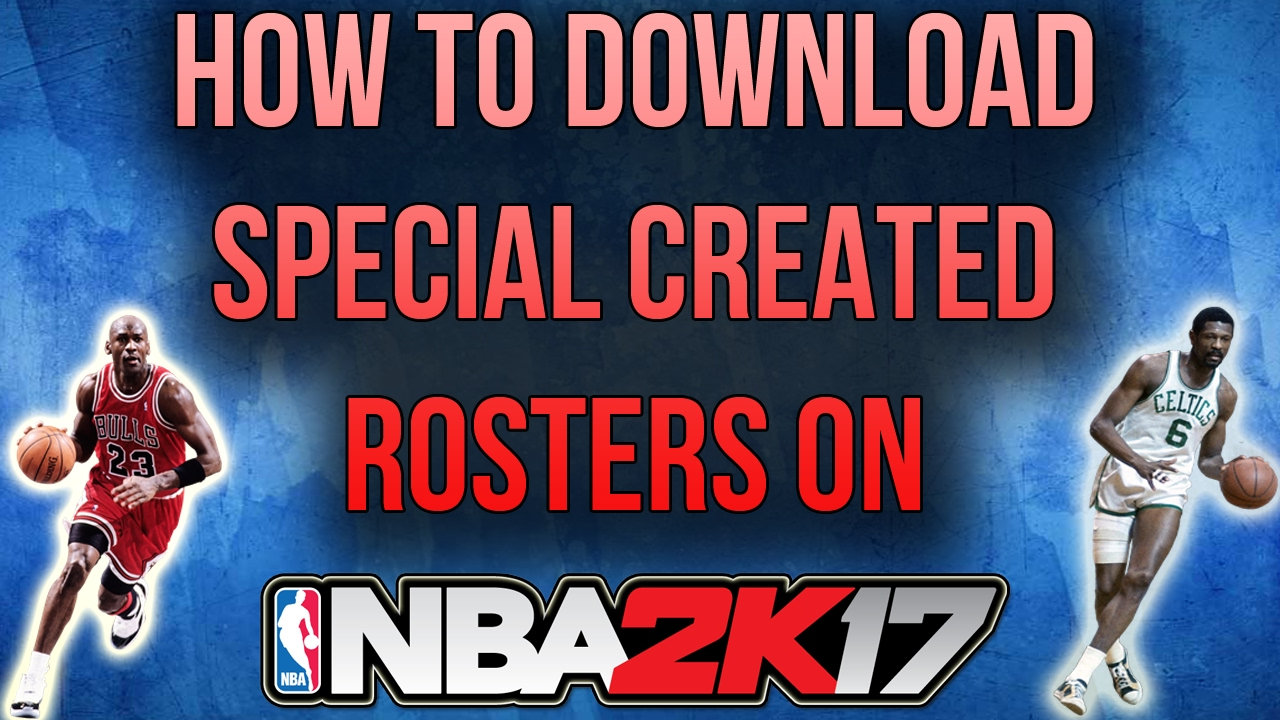Nba 2k17 How To Download Community Rosters My League Youtube