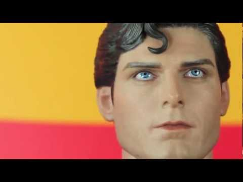 Superman (1978) Movie Hot Toys Christopher Reeve Superman 1/6 Scale Collectible Figure Review