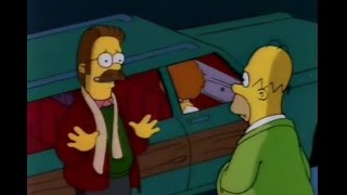 The Simpsons - Homer Helps the Flanders