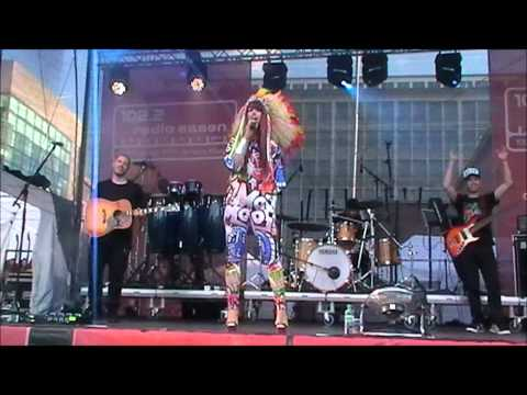 Aura Dione - Geronimo live in Essen