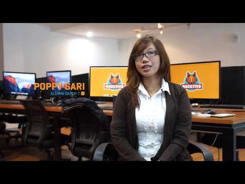 Poppy Sari, Full-time Developer at Tokopedia! #WomenInTech