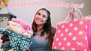 BACK TO SCHOOL CLOTHING HAUL 2019
