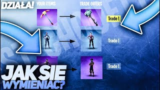 HOW TO EXCHANGE SKINS IN FORTNITE? -YOU CAN ALREADY? | NEW UPDATE WITH TRADE?! | NEW IN FORTNITE