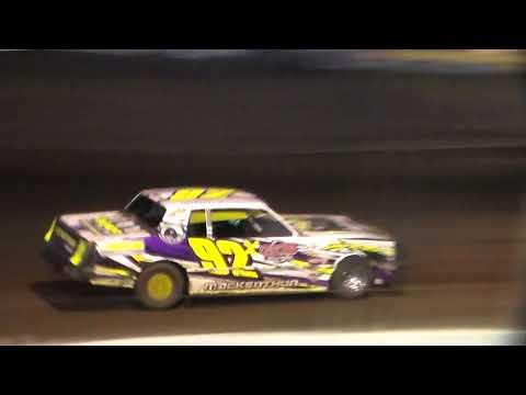 Stock Car Heat 3 @ Hancock County Speedway 08/11/17