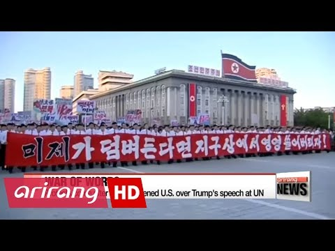 North Korea stages rallies in support of Kim Jong-un and denounces Trump's UN speech