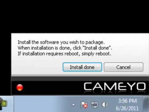 Cameyo portable app virtualization
