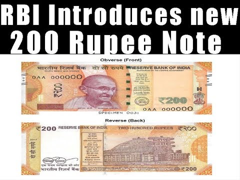 RBI Introduces New 200 Rupee Note - 10 Important Features Of New Currency  Note