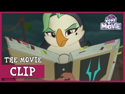 Celaeno And The Pirates Capture The Mane 6   My Little Pony: The Movie [Full HD]